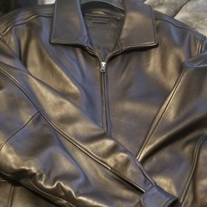 New Leather Coat